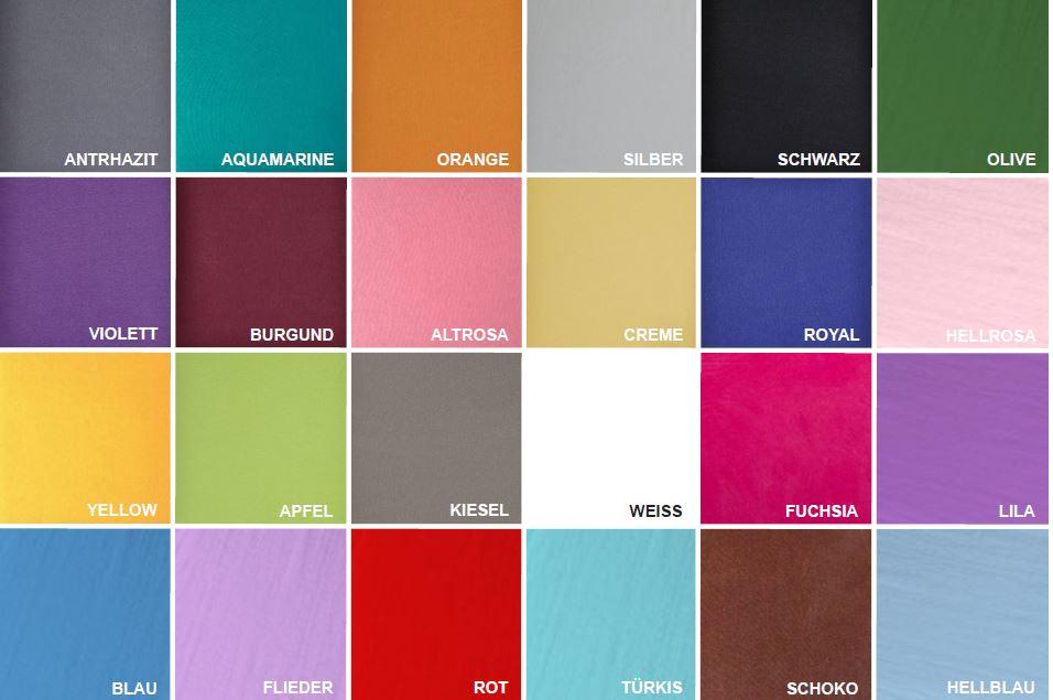 Eco-Budget Baumwolle Single-Jersey-Fix 90 x 100 x 200 cm