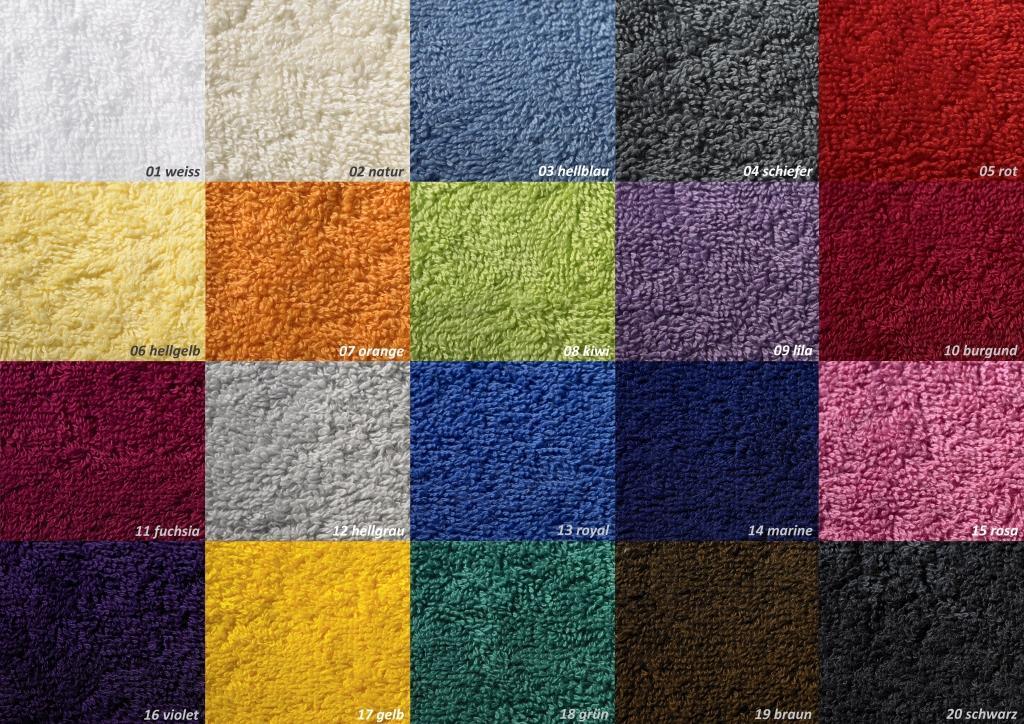 Gästetuch Superior Color 40 x 60 cm